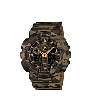 Zegarek G-SHOCK - GA-100CM-5AER Brown/Multi