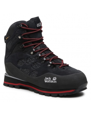 Trekkingi JACK WOLFSKIN - Wilderness Peak Texapore Mid M 4035261 Black/Red