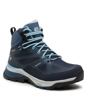 Trekkingi JACK WOLFSKIN - Force Striker Texapore Mid W 4038871 Dark Blue/Light Blue