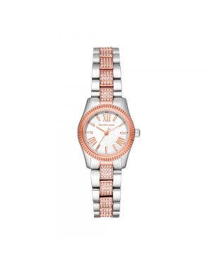 Zegarek MICHAEL KORS - Petite Lexington MK3876 Silver/Rose Gold