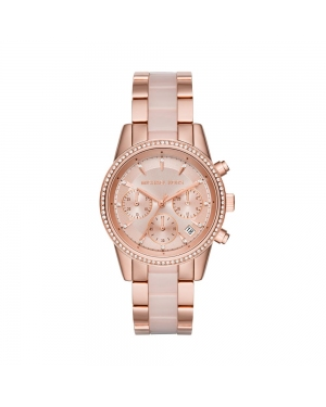 Zegarek MICHAEL KORS - Ritz MK6307 Gold/Rose