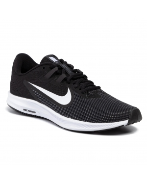 Buty NIKE - Downshifter 9 AQ7481 002 Black/White/Anthracite