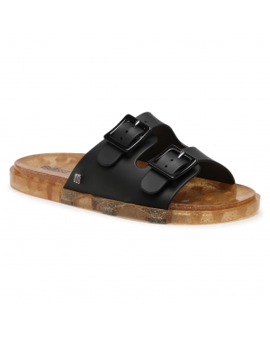 Klapki MELISSA - Wide Ad 32950 Black/Rice Husk 53845