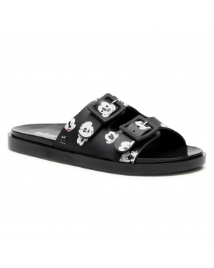 Klapki MELISSA - Wide + Mickey & Friend 32999 Black/White/Red 53867
