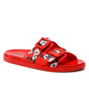 Klapki MELISSA - Wide + Mickey & Friend 32999 Red/White/Black