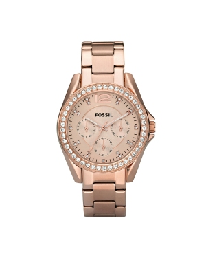 Zegarek FOSSIL - Riley ES2811 Rose Gold/Rose