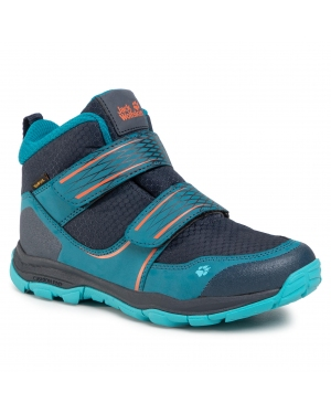 Śniegowce JACK WOLFSKIN - Mtn Attack 3 Texapore Mid Vc K 4037722 Dark Blue/Orange