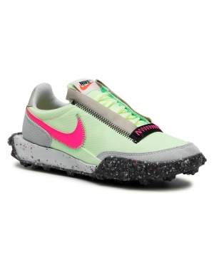Buty NIKE - Waffle Racer Crater Barely Volt/Pink Blast/Black
