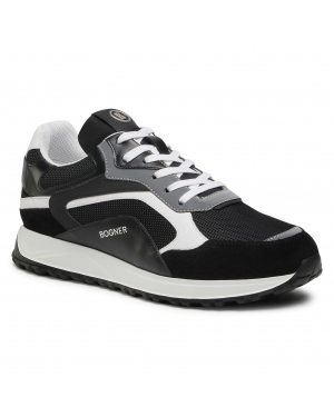 Sneakersy BOGNER - Michigan 1 12120645020  Black/White 020