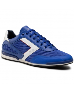Sneakersy BOSS - Saturn 50445677 10230782 01 Bright Blue 430