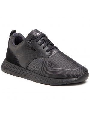 Sneakersy BOSS - Titanium 50446667 10232903 01 Black 001