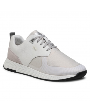 Sneakersy BOSS - Titanium Runn 50446667 10232903 01 Open White 120