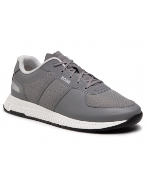 Sneakersy BOSS - Titanium 50452025 030 Medium Grey