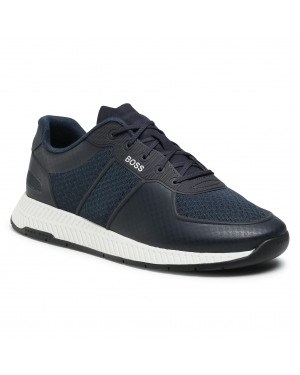 Sneakersy BOSS - Titanium 50452025 10235033 01 Dark Blue 401