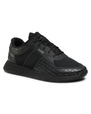 Sneakersy BOSS - Titanium 50452042 10235033 01 Black 001