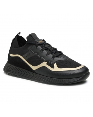Sneakersy BOSS - Titanium 50452043 10232616 01 Black 007