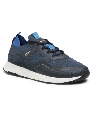 Sneakersy BOSS - Titanium 50452043 10232616 01 Dark Blue 404