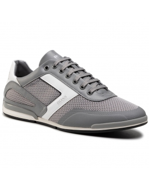 Sneakersy BOSS - Saturn 50445677 10230782 01 Medium Grey 030