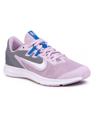 Buty NIKE - Downshifter  9 (Gs) AR4135 510 Iced Lilac/White/Smoke Grey