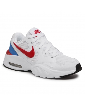 Buty NIKE - Air Max Fusion CJ1670 100 White/Gym Red/Pacific Blue