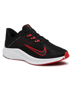 Buty NIKE - Quest 3 CD0230 004 Black/University Red/White