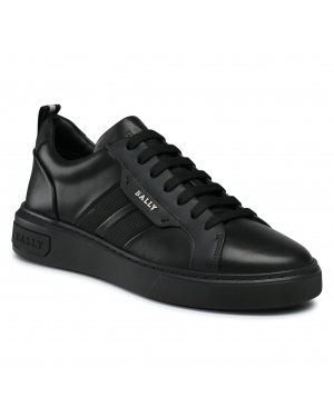 Sneakersy BALLY - Maxim 6234682 Black Lam Plain 00822A