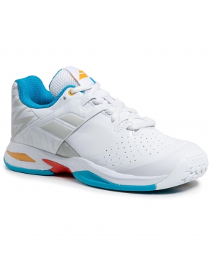 Buty BABOLAT - Propulse Ac Junior 32S21478 White/Diva Blue