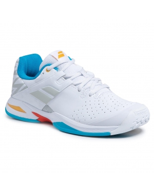 Buty BABOLAT - Propulse Ac Junior 33S21478  White/Diva Blue