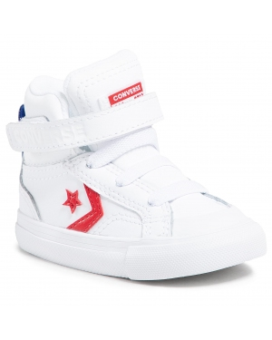 Sneakersy CONVERSE - Pro Blaze Strap Hi 770511C White/University Red/Blue