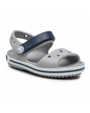 Sandały CROCS - Crocband Sandal 12856 Light Grey/Navy