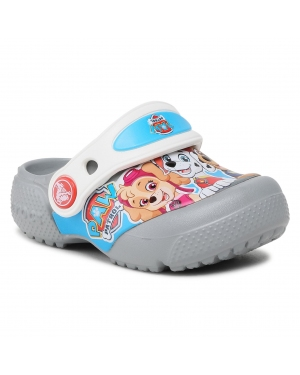 Klapki CROCS - Crocs Fun Lab Paw Patrol Clg 206276  Light Grey
