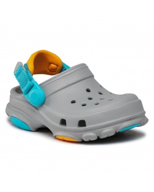 Klapki CROCS - All Terrain  Clog K 207011  Light Grey