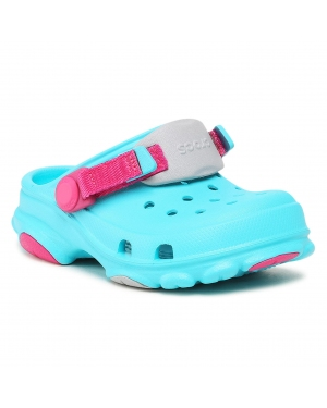 Klapki CROCS - Classic All-Terrain Clog K 207011 Digital Aqua