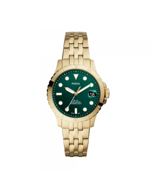 Zegarek FOSSIL - FB-01 ES4746 Gold/Green