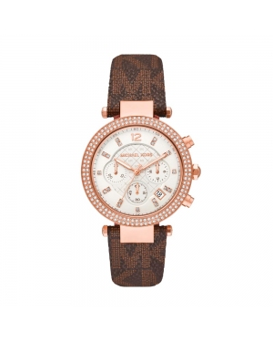 Zegarek MICHAEL KORS - Parker MK6917 Brown/Gold