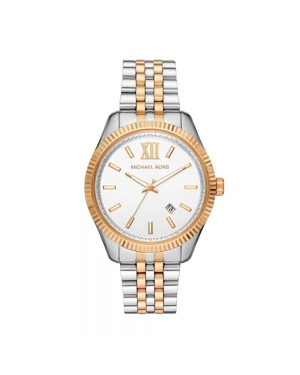 Zegarek MICHAEL KORS - Lexington MK8752  Silver/Gold