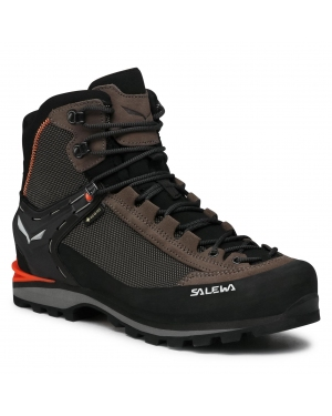 Trekkingi SALEWA - Ms Crow Gtx GORE-TEX 7512 Wallnut/Fluo Orange