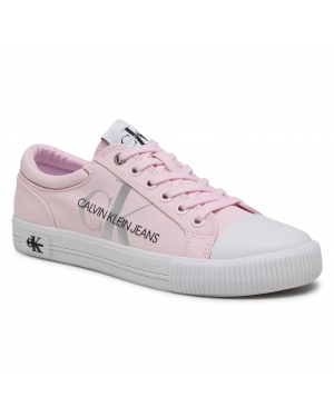 Trampki CALVIN KLEIN JEANS - Vulcanized Sneaker Laceup Pes YW0YW00043 Pearly Pink TN9