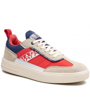 Sneakersy NAPAPIJRI - Bark NP0A4FKF Beige/Red/Navy R031