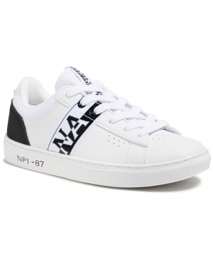 Sneakersy NAPAPIJRI - Willow NP0A4FKT White/Black 0101