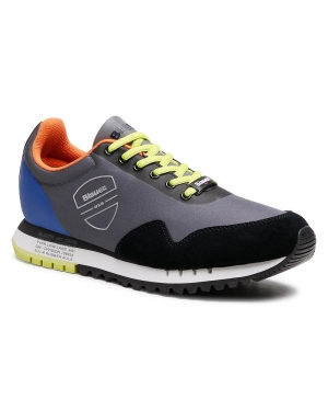 Sneakersy BLAUER - S1DENVER05/RIS Fan/Blk Fantasy/Black