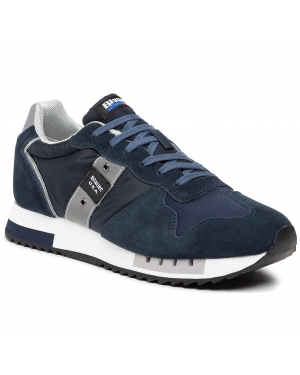 Sneakersy BLAUER - S1QUEENS01/MES Navy