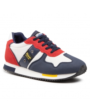 Sneakersy BLAUER - S1DASH02/NYL S White/Red/Navy