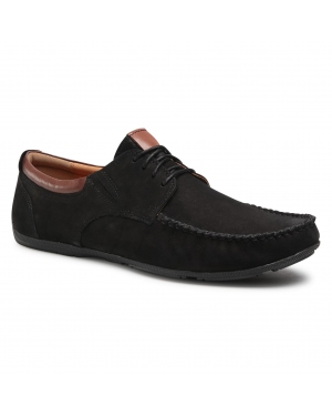 Półbuty LASOCKI FOR MEN - MB-POINTER-10 Black
