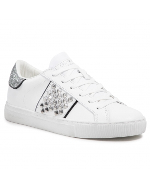Sneakersy CRIME LONDON - Low Top Essential 25629PP3.10 White