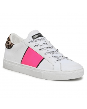 Sneakersy CRIME LONDON - Low Top Essential 25620PP3.10 White
