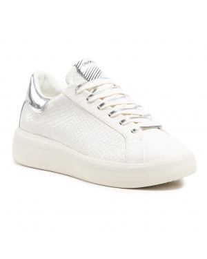 Sneakersy CRIME LONDON - Low Top Level Up 25300PP3.10 White