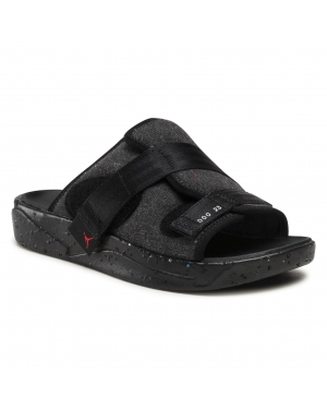 Klapki NIKE - Jordan Crater Slide CT0713 001 Black/University Red