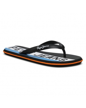 Japonki PEPE JEANS - Whale Timy PMS70104 Black 999