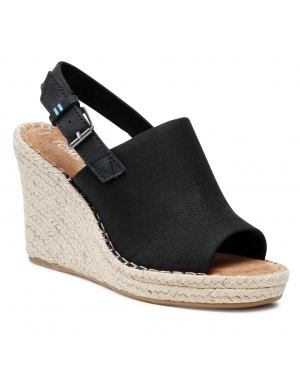 Espadryle TOMS - Monica 10013451 Black Oxford